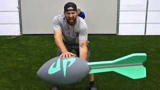 Giant Nerf Trick Shots | Dude Perfect