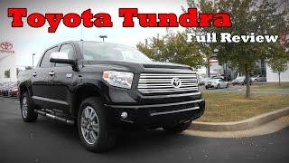 2017 Toyota Tundra: Full Review | SR, SR5, Limited, Platinum & 1794 Edition