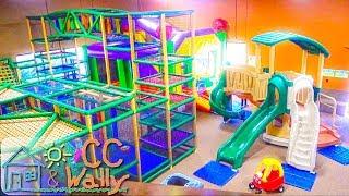 Indoor Playground Fun for Kids at Monkey Bizness   Slides Bouncy Balls Children's Play Center