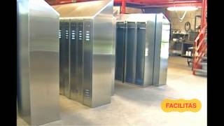 Facilitas Srl Modena, sales of industrial furniture in stainless steel +44 (020) 3290 0709