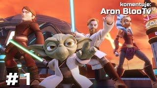 Zagrajmy w Disney Infinity 3.0 Zmierzch Republiki #1 Generał Grievous
