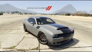 How to Install CAR MODS in GTA 5 - Dodge Challenger Shaker 2019