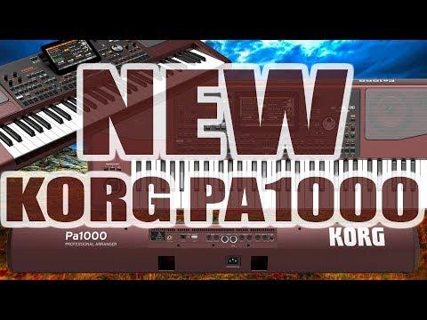 SAMPLE SOUND KORG PA 1000.... NEW