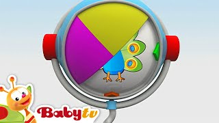 Who's Hiding in the Picture - Hippa Hippa Hey | BabyTV