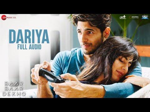 Dariya - Full Audio   Baar Baar Dekho   Sidharth Malhotra & Katrina Kaif   Arko