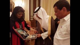 IMEE MARCOS STEALS THE SHOW IN PRRD TRIP WITH DAD'S PHOTO ALBUM WITH SAUDI KING