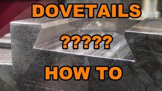 Easy DOVETAILS... How to make and measure for tool holders on lathes, the Dorian or Aloris type...