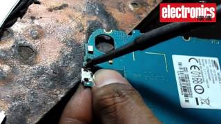 How to change Mobile Charging port with Heat Gun (Hindi)