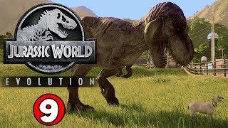 RELEASING THE T-REX! Jurassic World Evolution Gameplay #9