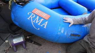Raft Repair System 6 Urethane Coatings Instructional Video - RiverGear Man of Rubber