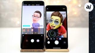 Memoji vs AR Emoji - iPhone X vs Galaxy S9+