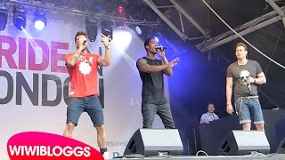 "Live: Blue ""All Rise"" @ London Pride 2015 (Trafalgar Square) 