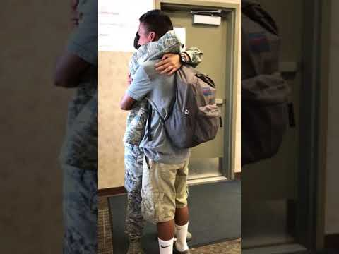 Xxx Mp4 Air Force Sister Surprises Our Brother In School EMOTIONAL 3gp Sex