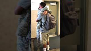 Air Force Sister Surprises Our Brother In School!!!! (EMOTIONAL!!!!)