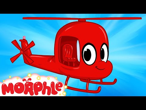 My Red Helicopter My Magic Pet Morphle Episode 20