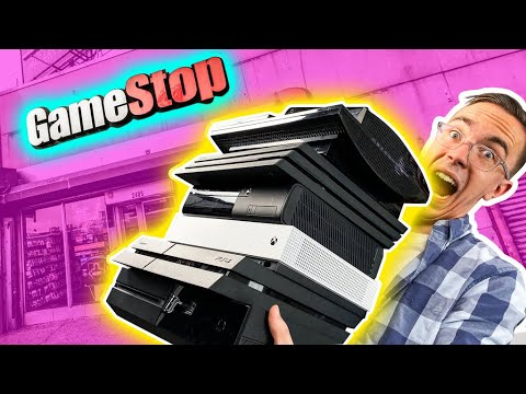 I Bought EVERY Console at GameStop