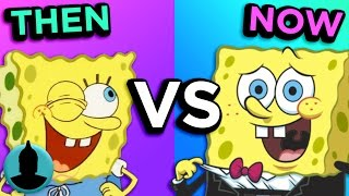 SpongeBob SquarePants - Then VS. Now - Evolution of SpongeBob (Tooned Up S3 E15)