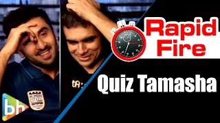 BH Special : Interesting Quiz with Ranbir Kapoor | Imtiaz Ali | Tamasha 2015