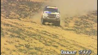 Pick-up Isuzu D-max Dakar 2009 - www.dmax.fr