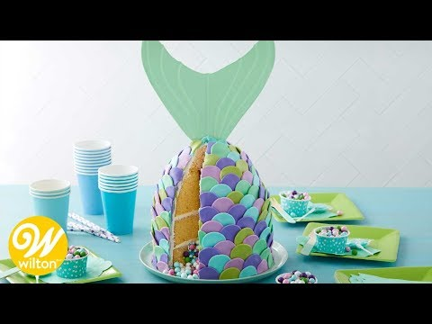 Xxx Mp4 How To Make A Mermaid Tail Cake With Rosanna Pansino Baking Line Wilton 3gp Sex