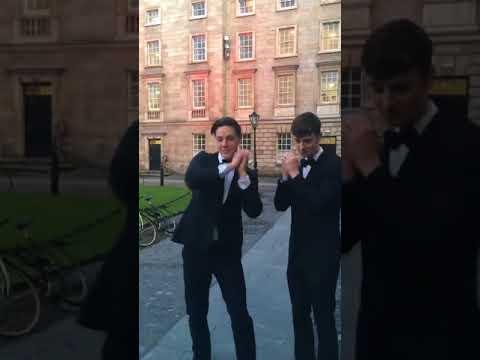 Dublin College Acapella Group 'Trinitones' Perform Amazing George Ezra Cover
