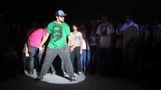 Tushar aka Crazy Chester @ Street Battle '14