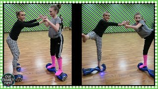 DANCING ON HOVERBOARDS & DANCE DRESS REHEARSAL