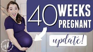 40 WEEKS PREGNANT! | NST, Possible Induction, Plans | Natalie Bennett