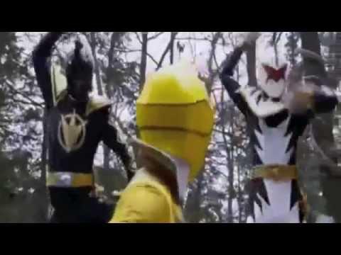 Power Rangers Super Megaforce - Gia Kills Dino Thunder Rangers