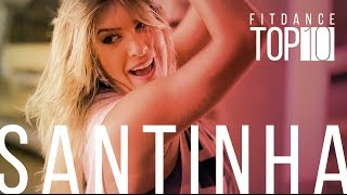 Santinha - Leo Santana - #FitDanceTop10 com Coreografia | FitDance