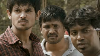 Nakul - Sidharth Fight Scene - Vallinam Tamil Movie Scene