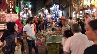 جولة في : خان الخليلي، حارة اليهود، الحسين | Egypt - Cairo