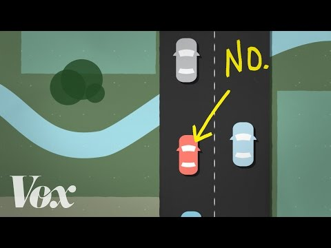Why you shouldn't drive slowly in the left lane