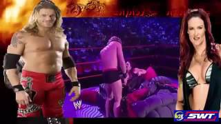 WWE Live Hot Sex Edge and Lita on Raw  Without Bra and Panty OMG Moment