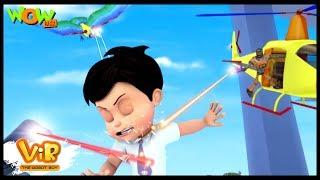 VIR vs Toy Robots - Vir : The Robot Boy - Kid's animation cartoon series