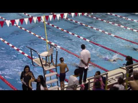 Boys 10 & Under 50 Yard Backstroke