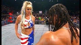 (720pHD): WCW Nitro 11/01/99 - Madusa vs. Evan Karagias