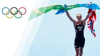 Team GB's Alistair Brownlee wins triathlon gold again in Rio