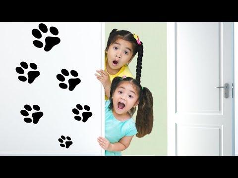 Suri & Annie Pretend Play Cooking Food with Kitchen Toys