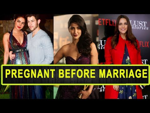 Xxx Mp4 10 Bollywood Actress Who Got Pregnant Before Marriage 3gp Sex