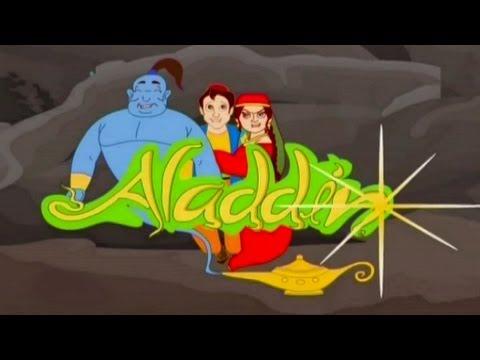 Aladdin Ka Chirag Full Video (Animation Film) - Short Animated Movie Hindi