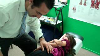 Dr. Jason Worrall-Chiropractic Adjustment On Little Girl-You're Crazy Not To Have Your Kids Adjusted