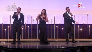 """مهرجان الجونة السينمائي - ميدلي لأشهر أغاني السينما المصرية والعالمية من """"فرقة فبريكة"""" الغنائية"""