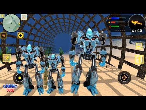 Xxx Mp4 Robot Shark 2 Underwater Shark Robots By Naxeex Robots Android Gameplay FHD 3gp Sex