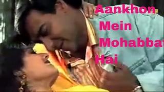 Aankhon Mein Mohabbat Hai     Gair   Video Song     Ajay Devgn & Raveena Tandon