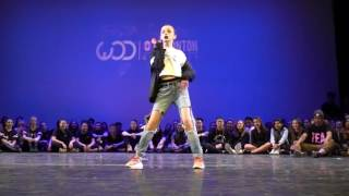 World of dance TAylor Hatala Edmonton 2016