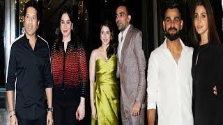 Zaheer Khan & Sagarika Ghatge's Engagement Ceremony | Virat Kohli, Anushka Sharma