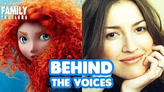 BRAVE | Behind the Voices of the Disney Pixar Family Animted Movie