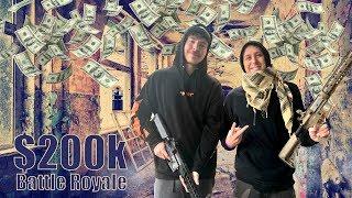 Mr Beasts $200k Youtube Battle Royale