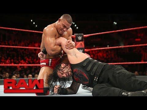Xxx Mp4 Roman Reigns Vs Jason Jordan Intercontinental Championship Match Raw Dec 4 2017 3gp Sex
